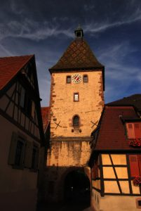 Village de Bergheim en Alsace