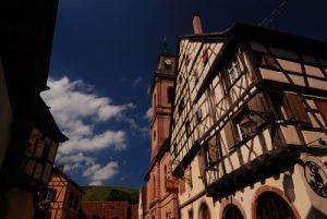Village de Riquewihr en Alsace