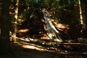 La Cascade du Rossignolet<br> Parc Naturel Régional des Volcans d'Auvergne