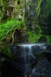 La cascade du Saut du Loup<br> Parc Naturel Régional des Volcans d'Auvergne