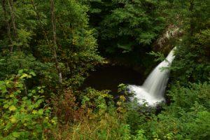La Cascade de Ste Elisabeth<br> Parc Naturel Régional des Volcans d'Auvergne