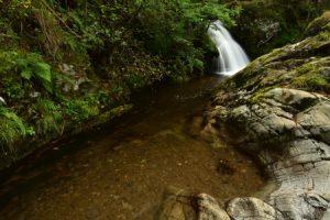 La Cascade du Gour des Chevaux<br> Parc Naturel Régional des Volcans d'Auvergne