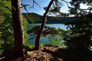 Le Cratère de type Maar du Lac Pavin<br> Parc Naturel Régional des Volcans d'Auvergne