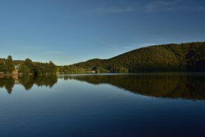 Le Lac Chambon<br> Parc Naturel Régional des Volcans d'Auvergne