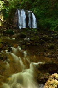La Cascade de la Vernière<br> Parc Naturel Régional des Volcans d'Auvergne