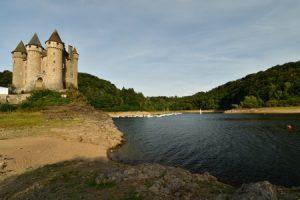 Barrage de Bort au Château de Val<br> Parc Naturel Régional des Volcans d'Auvergne
