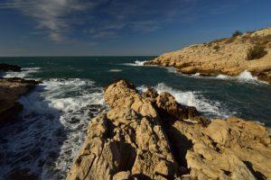 La Calanque de Saména<br> Les Calanques de Marseille<br> Parc National des Calanques