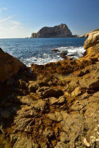 L'Île Maire depuis la Calanques de Callelongue<br> Les Calanques de La Ciotat<br> Parc National des Calanques