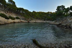 La Calanque de Port Pin<br> Les Calanques de Cassis<br> Parc National des Calanques