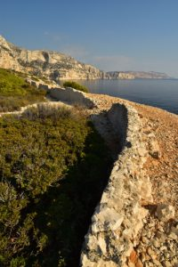 Ancienne Batterie du Cap de Morgiou<br> Les Calanques de Morgiou<br> Parc National des Calanques