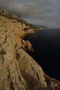 Sentier du littoral entre les Calanques de Marseilleveyre &amp; des Queyrons<br> Les Calanques de Marseille<br> Parc National des Calanques