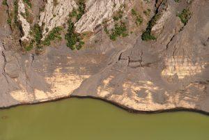Le lac vert &amp; acide du cratère principal du Volcan Irazú (3 432 mètres d'altitude / 300m de profondeur / 1000m de diamètre)<br> Parc national du Volcán Irazú<br> Le Costa-Rica