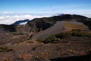 Point de vue sur le volcan Irazú<br> Parc national du Volcán Irazú<br> Le Costa-Rica