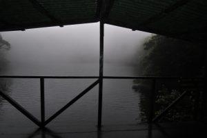 Lac du cratère du volcan Barva (2 906 mètres d'altitude / 8m de profondeur / 70m de diamètre) Parc national Braulio Carrillo Le Costa-Rica