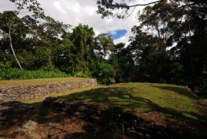 Vestiges précolombiens de la cité Guayabo<br> Parc Monumento nacional Guayabo<br> Costa-Rica