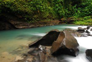 La Catarata de La Fortuna<br> Parc du volcan Arenal<br> Costa-Rica