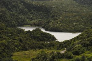Le lac Fresh Water Lake<br> Île de la Dominique (Dominica)