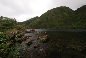 Lac Boeri Lake<br> Île de la Dominique (Dominica)