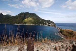 Vue du Fort de Cachacrou<br>