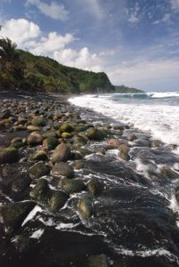Plage de Bou Sable Bay<br> Île de la Dominique (Dominica)