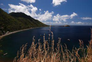 Baie de Soufrière<br> Île de la Dominique (Dominica)