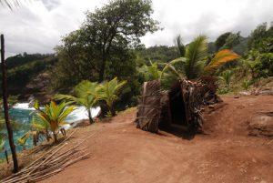 Habitats traditionnels indien<br> Carib Territory<br> Île de la Dominique (Dominica)