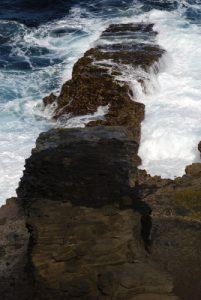 Escalier tête de chien<br> Carib Territory<br> Île de la Dominique (Dominica)