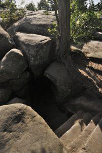 La Caverne du Brigand<br> Les Gorges d'Apremont<br> Forêt de Fontainebleau