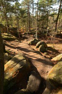 La promenade de la Cavalière des Brigands -  Les Gorges d'Apremont -  Forêt de Fontainebleau