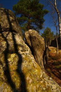 Site d'escalade du Rochers du Général<br> Les 3 Pignons - Forêt de Fontainebleau