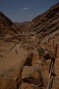 Gorges Barranco de las Peñitas. Parque rural de Bétancuria. Île de Fuerteventura (Islas Canarias).