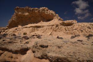 Dunes fossiles d'Ajuy<br> Île de Fuerteventura (Islas Canarias).