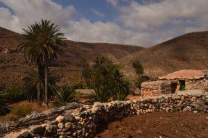 Paysage désertique près d'Ajuy<br> Île de Fuerteventura (Islas Canarias).