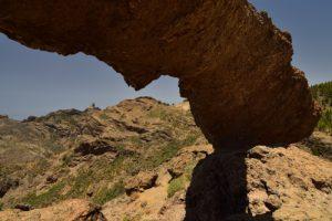 """L'Arc en pierre """"La Ventana del Nublo""""<br> Parque rural del Nublo<br> Île de Grande Canarie"""