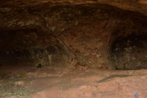 Site archéologique des grottes Cuevas de Caballero<br> Le pico Moriscos<br> Île de Grande Canarie