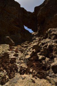 Le Trou du Pico de Las Nieves<br> Paysaje Protegido de Las Cumbres<br> Île de Grande Canarie