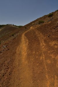 Le Volcan La Calderilla<br> Paysaje Protegido de Las Cumbres<br> Île de Grande Canarie