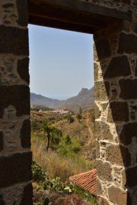Le moulin Molino de los Carzola<br> Paraje Protegido de Fataga<br> Île de Grande Canarie