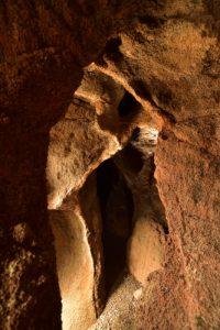 Site archéologique des Grottes Guanches Cuevas de las Cruces près d'Agaete<br> Île de Grande Canarie