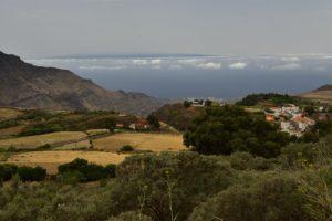 Le cratère Caldera de Hondo de Fagagesto<br> Paysaje Protegido de Las Cumbres<br> Île de Grande Canarie