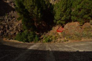 Le barrage Presa de Los Hornos<br> Parque rural del Nublo<br> Île de Grande Canarie