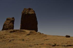 Chemin du Roque Nublo par l'Aserrador<br> Parque rural del Nublo<br> Île de Grande Canarie