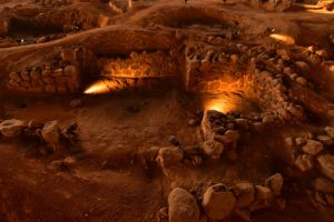 Habitations guanches Cueva Pintada à Galdar<br> Île de Grande Canarie