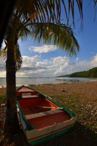 Barque de l'Anse Caraïbe à Pointe-Noire -  Guadeloupe