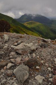 La Citerne et les Monts Caraïbes depuis La Soufrière -  Parc national de la Guadeloupe Basse-Terre / Guadeloupe