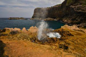 Le Souffleur -  La Porte d'Enfer -  Grande-Terre / Guadeloupe