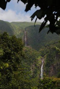 La première et la seconde Chute du Carbet -  Parc national de la Guadeloupe -  Basse-Terre / Guadeloupe