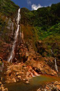 La première Chute du Carbet -  Parc national de la Guadeloupe -  Basse-Terre / Guadeloupe