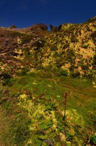 Gouffre Dupuy et les Portes d'Enfer au sommet de la Soufrière -  Basse-Terre / Guadeloupe