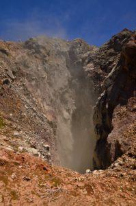 Le Gouffre Tarissan, Cratère principal de la Soufrière et ses fumerolles -  Parc national de la Guadeloupe Basse-Terre / Guadeloupe